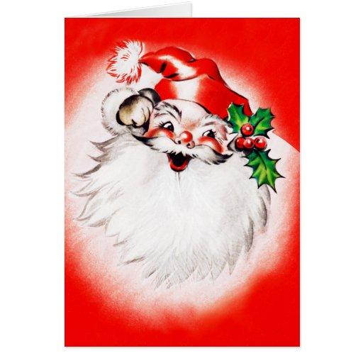 Jolly Christmas Greetings Greeting Card