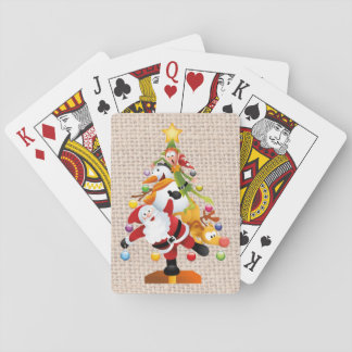 Jolly Christmas Playing Cards, Standard faces Playing Cards