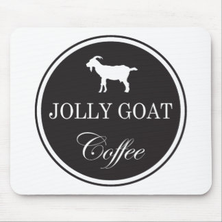 Jolly Goat Coffee Mouse Pad