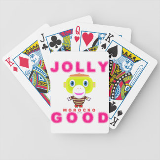 Jolly Good-Cute Monkey-Morocko Bicycle Playing Cards