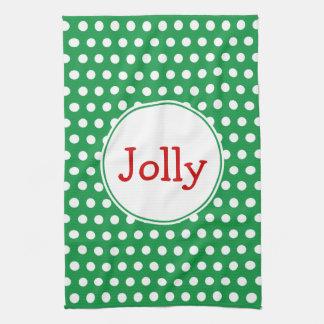 Jolly Holiday Kitchen Towel