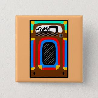Jolly Jukebox 15 Cm Square Badge