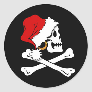 Jolly Kris Kringle Roger Sticker