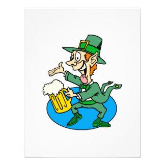 Jolly Leprechaun Custom Invites