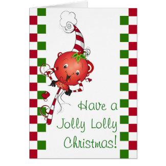 Jolly Lolly Christmas Card