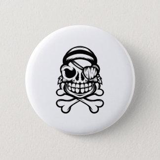 Jolly Pirate 6 Cm Round Badge