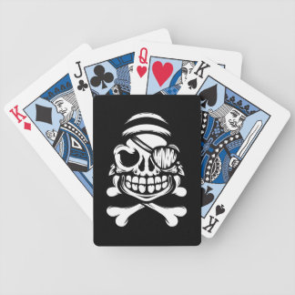 Jolly Pirate Bicycle Playing Cards