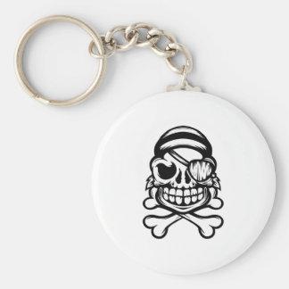 Jolly Pirate Key Ring