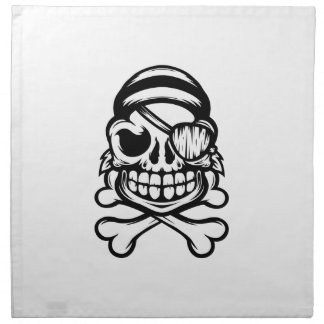 Jolly Pirate Napkin
