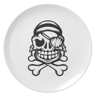 Jolly Pirate Plate