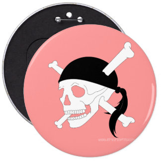 Jolly-Roger #1 6 Cm Round Badge