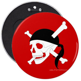 Jolly Roger #1 6 Cm Round Badge