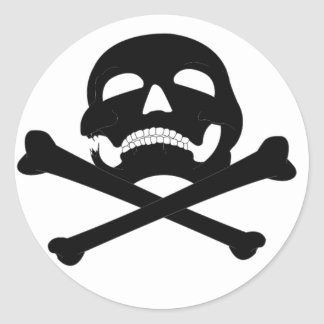 Jolly-Roger #4 Round Sticker