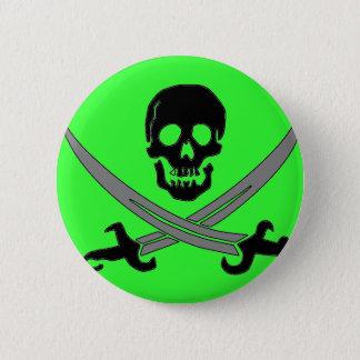 Jolly Roger 6 Cm Round Badge