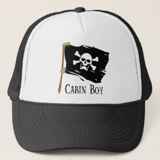 Jolly Roger Cabin Boy Trucker Hat