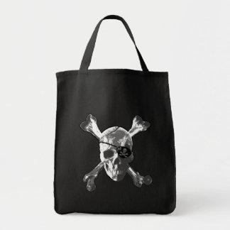 Jolly Roger Crossbones Tote Bag