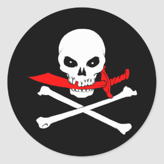 Jolly Roger (cutlass) Sticker