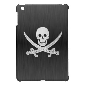 Jolly Roger Dark Deluxe iPad Mini Cover
