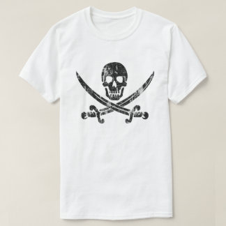 Jolly Roger Distressed T-Shirt