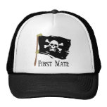 Jolly Roger First Mate Mesh Hat