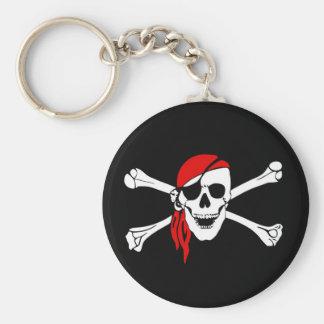 Jolly Roger Keychain