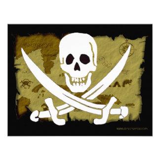 Jolly Roger Map #10 Custom Invites