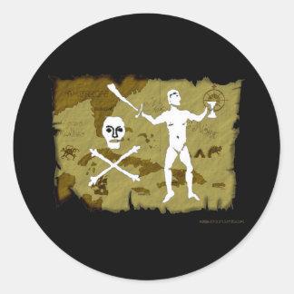 Jolly Roger Map 5 Sticker