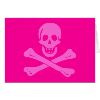 Jolly Roger Pink Card