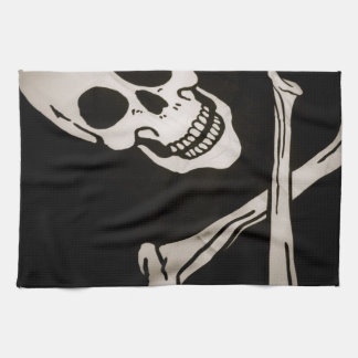 "Jolly Roger Pirate Cloth Flag 16"" x 24"""
