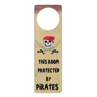 Jolly Roger Pirate Door Hanger