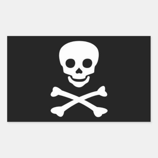 Jolly Roger Pirate Flag Sticker