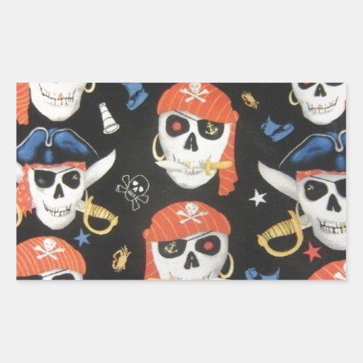Jolly Roger Pirate Skulls Sticker
