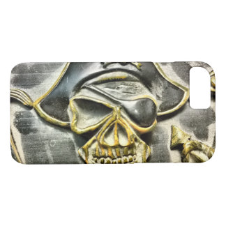 Jolly Roger Pirate Treasure Chest iPhone 8/7 Case