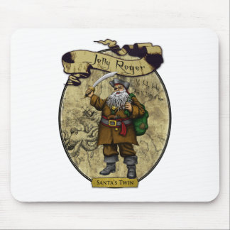 Jolly Roger - Santa's Twin Mouse Pads