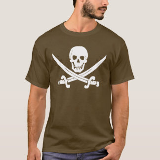 Jolly Roger Skull And Crossbones Pirate Gifts T-Shirt