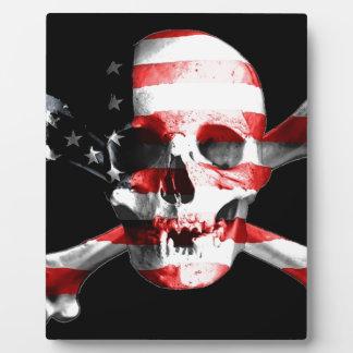 Jolly Roger Skull Crossbones Skull And Crossbones Plaque