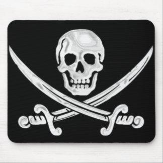 Jolly Roger Skull Mouse Pad