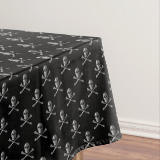 Jolly Roger Skull Pattern Tablecloth