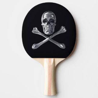 Jolly Roger Skull Ping Pong Paddle
