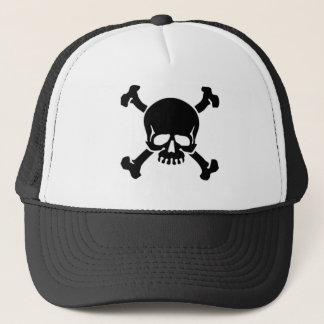 jolly-roger-tattoo trucker hat