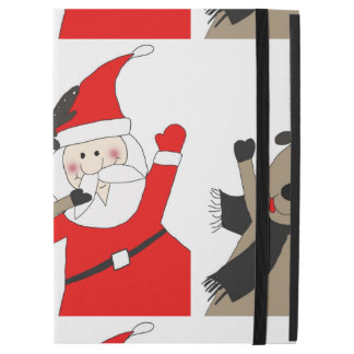 "Jolly Santa and Reindeer #1 iPad Pro 12.9"" Case"