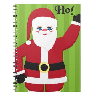 Jolly Santa Claus Notebook