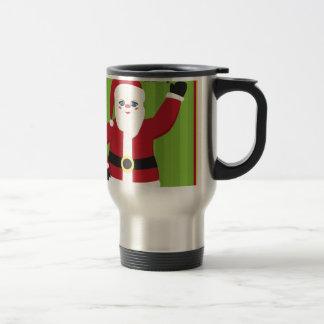 Jolly Santa Claus Travel Mug
