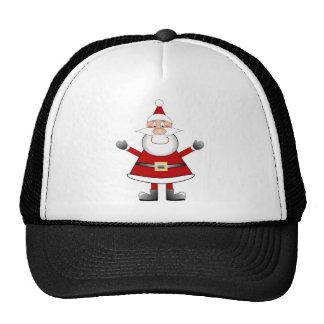 Jolly Santa Mesh Hats