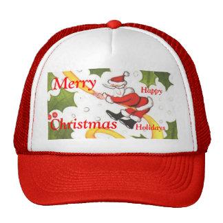 Jolly Santa Sliding Cap