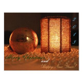 Jolly Seasonal Card 11 Cm X 14 Cm Invitation Card