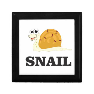 jolly snail small square gift box