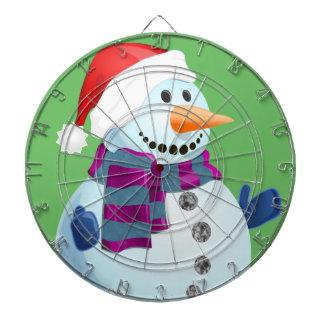 Jolly Snowman Dartboard