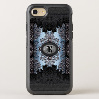 Jolt Shadow Unique Gothic Monogram Thyme OtterBox Symmetry iPhone 7 Case