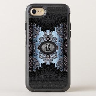 Jolt Shadow Unique Gothic Monogram Thyme OtterBox Symmetry iPhone 8/7 Case
